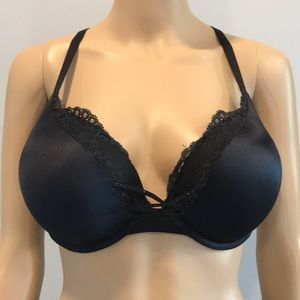 38C la Senza Hello Sugar padded black bra